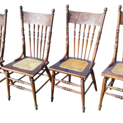 Press Back Chair Elegant Solutions Buckstaff Edwards And Cane Chairs Set Of 4