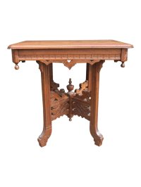 Eastlake Antique 1890 Parlor Table   Chairish