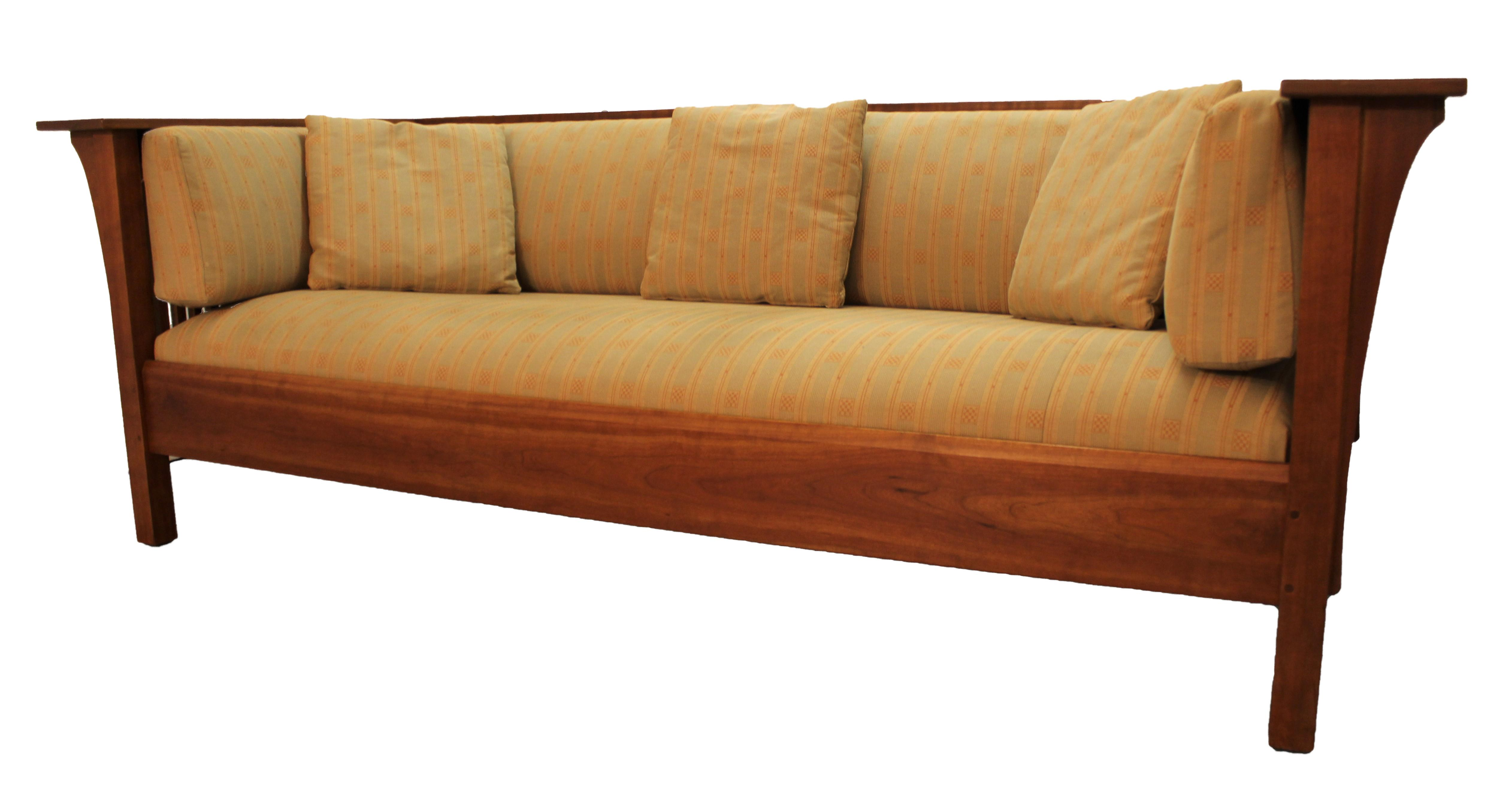 stickley fayetteville sleeper sofa source nanaimo arts and crafts long sofas southwestern mission