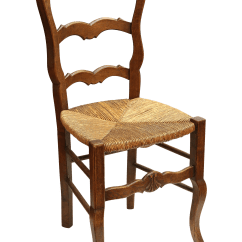 Country French Side Chairs Target Baby High Chair W Rush Seat Chairish