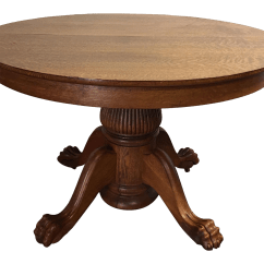 Tiger Oak Dining Chairs Folding Chaise Lounge Chair Walmart Antique Victorian Round Table Chairish