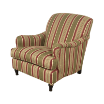 Pottery Barn Striped Armchair