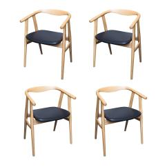 Hans Wegner Chairs Design Within Reach Chicco High Chair That Attaches To Table 525 In Oak 4 Chairish