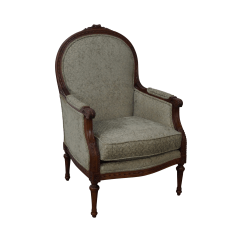 Bergere Dining Chairs Office Chair Covers For Sale Thomasville French Louis Xvi Style Chairish