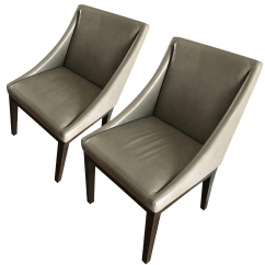 West Elm Chairs Outdoor Polywood Lounge Leather A Pair Chairish