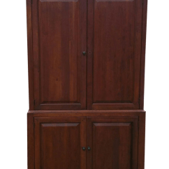 Where To Buy A Rocking Chair Antique Birthing Pictures Solid Wood Armoire/tv Cabinet | Chairish