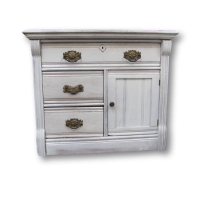 Shabby Chic Nightstand | Chairish