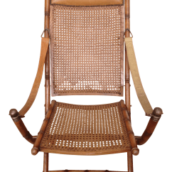 British Colonial Chair Bentwood Thonet Chairs For Sale Campaign Folding Cane Chairish