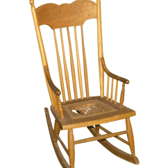 Small Rocking Chairs Power Chairside Table Antique Chair Chairish