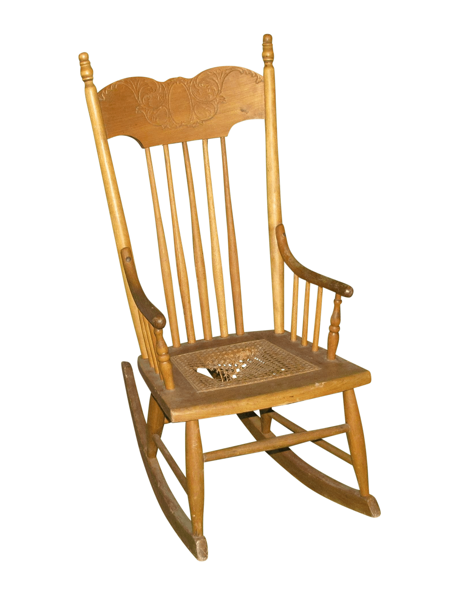 Small Rocking Chair Antique Small Rocking Chair Chairish