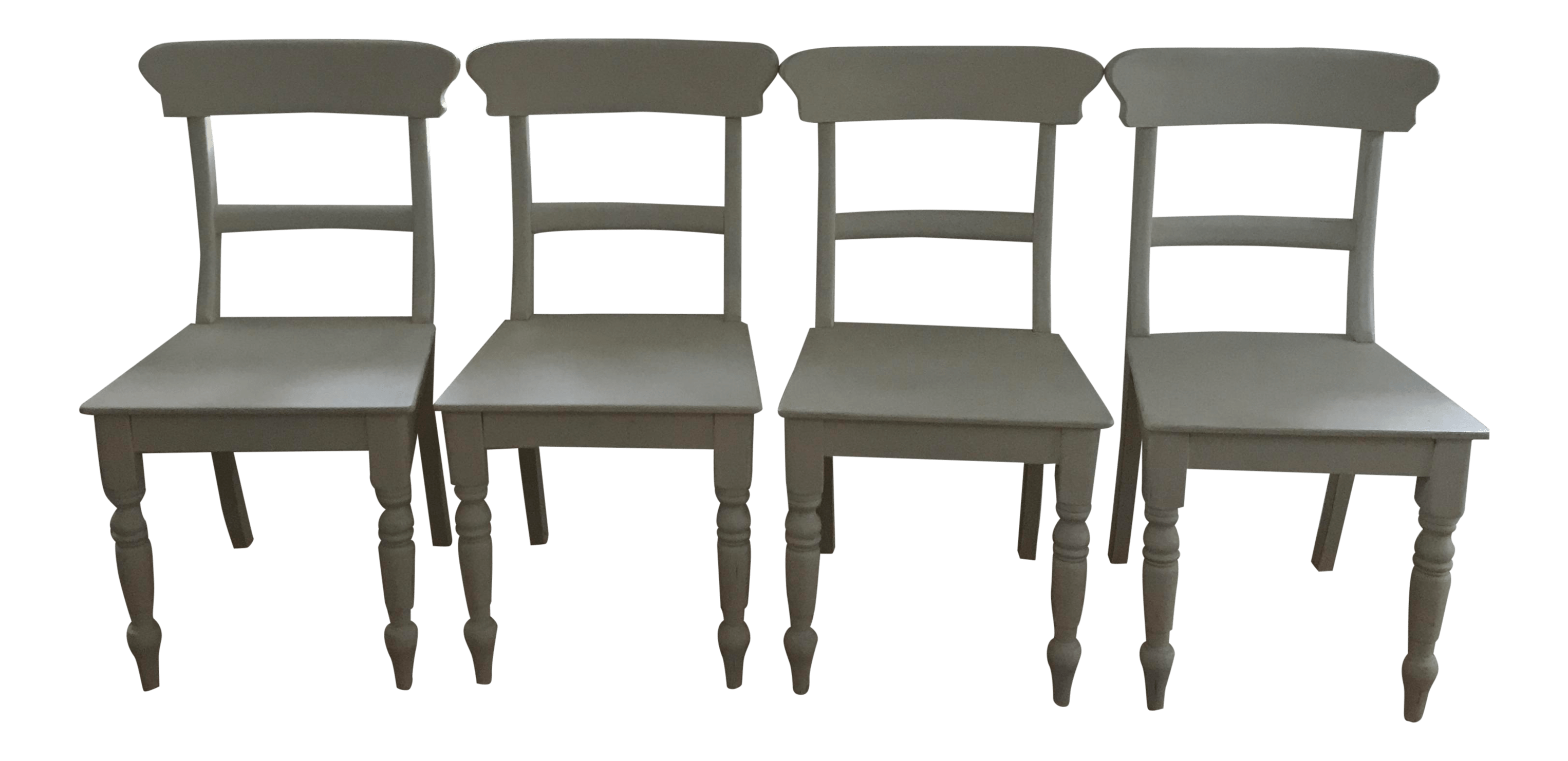 white dining chairs set of 4 light gray velvet accent chair restoration hardware chairish