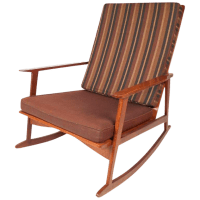 Mid-Century Modern Rocking Chair | Chairish