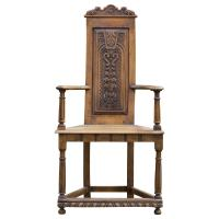Flemish Baroque Hall Chair