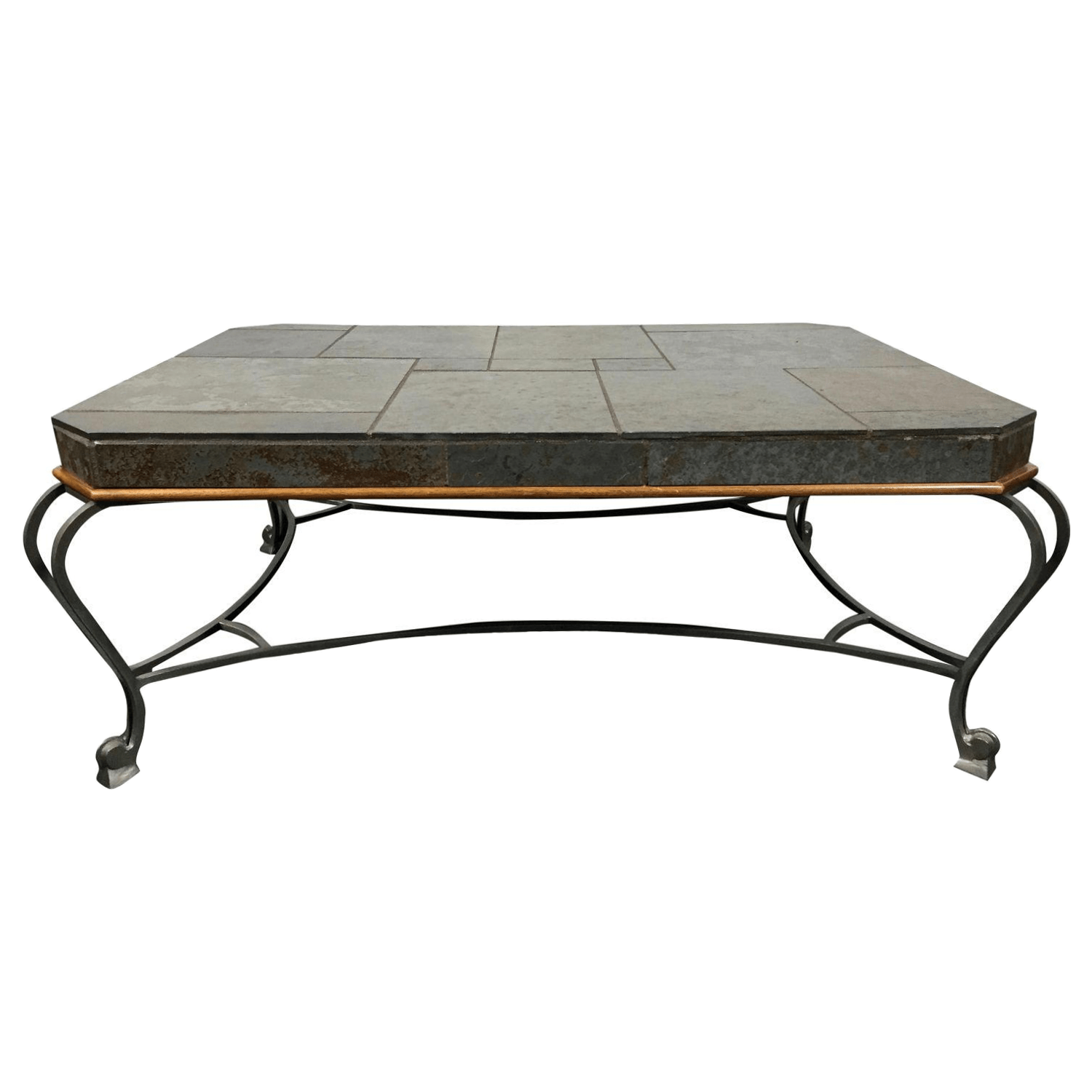 drexel sofa table polyester stain heritage et cetera slate metal coffee chairish