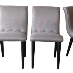 Conant Ball Chair Upholstered Dining Room Chairs With Arms Scoop Set Of 4 Chairish