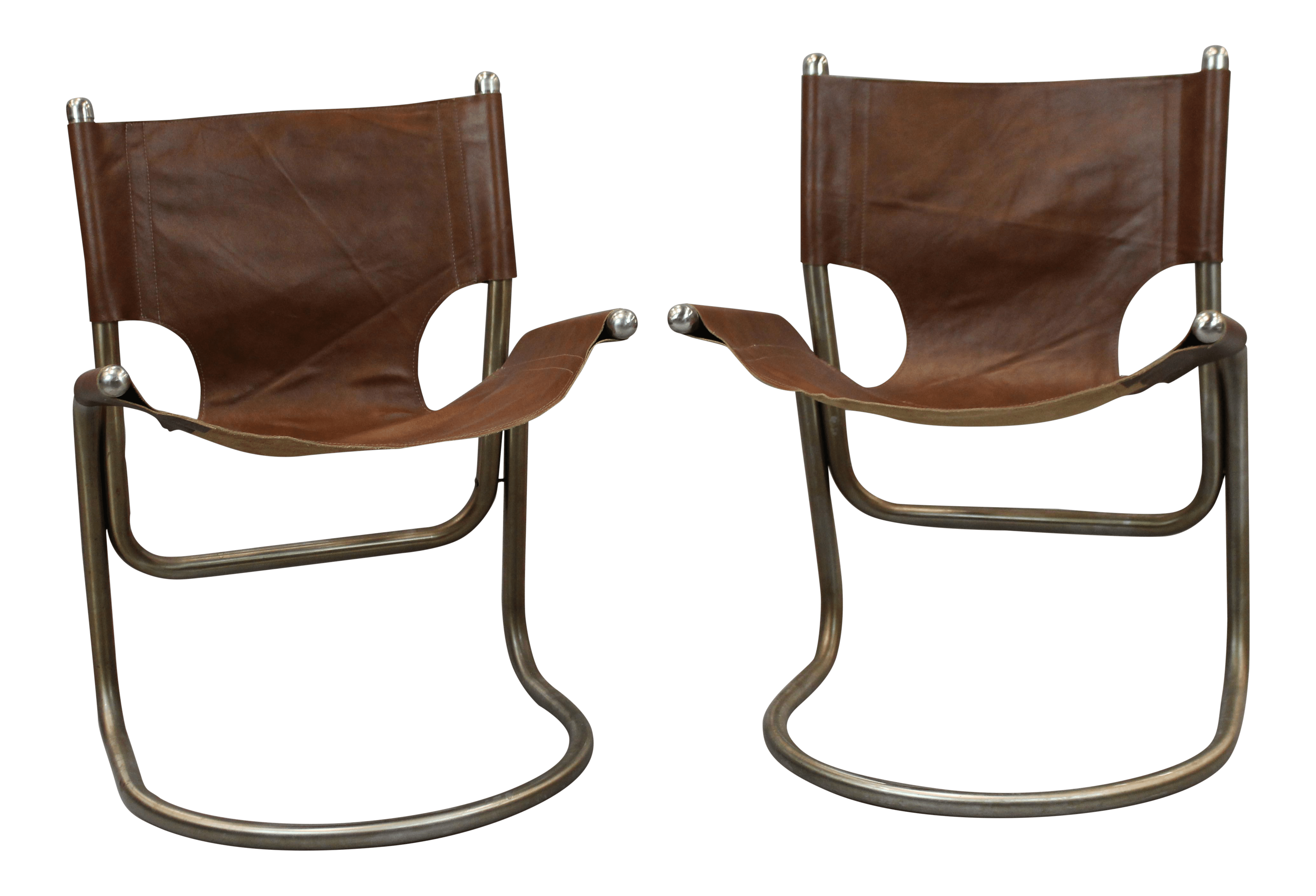 oversized aluminum rocking chair land of nod high mid-century italian leather & chairs - a pair   chairish