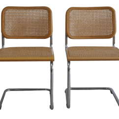 Marcel Breuer Chair Original No Plumbing Pedicure Canada Vintage Thonet Cesca Chairs Set