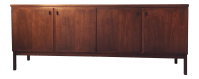 Mid-Century Rosewood Credenza by Directional | Chairish