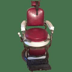 Koken Barber Chair Leopard High Heel Shoe Antique Industrial Chairish