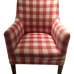 Buffalo Plaid Chair Oxo Tot Sprout High Red And White Check Arm Chairish