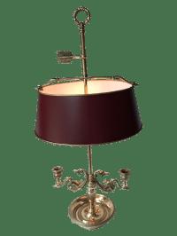 Empire Style Bouillotte Lamp   Chairish