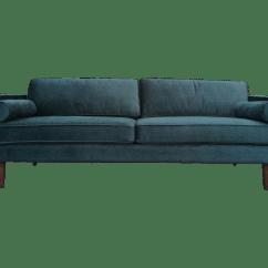 Berwick Mid Century Sleeper Sofa Faux Leather Sectionals Green Velvet Style Chairish