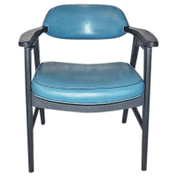 Mid-Century Modern Painted Chair | Chairish