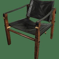 Leather Safari Chair Tank Wheelchair Black Chairish