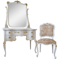 Antique Vanity Chair