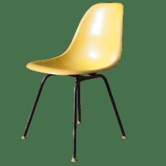 Eames Fiberglass Chair Massage Chairs For Less Herman Miller Chairish