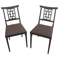 Folding Japanese Chair Xbox Gamer Vintage Asian Style Upholstered Chairs Chairish