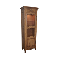 Baker Furniture French Country Curio Cabinet | Chairish