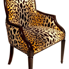 Animal Print Accent Chair Stackable Wicker Patio Chairs Velvet Chairish