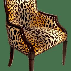 Animal Print Accent Chairs Bedroom Chair Furniture Velvet Chairish