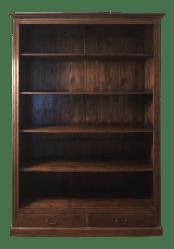 wood shelving acadia unit chairish