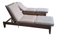 Restoration Hardware Teak Leagrave Collection Chaise ...
