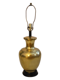 Brass Canister Lamp   Chairish