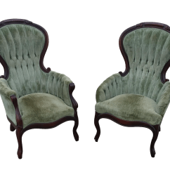 Victorian Parlor Chairs Chair Cover Hire Loughborough Antique Chairish