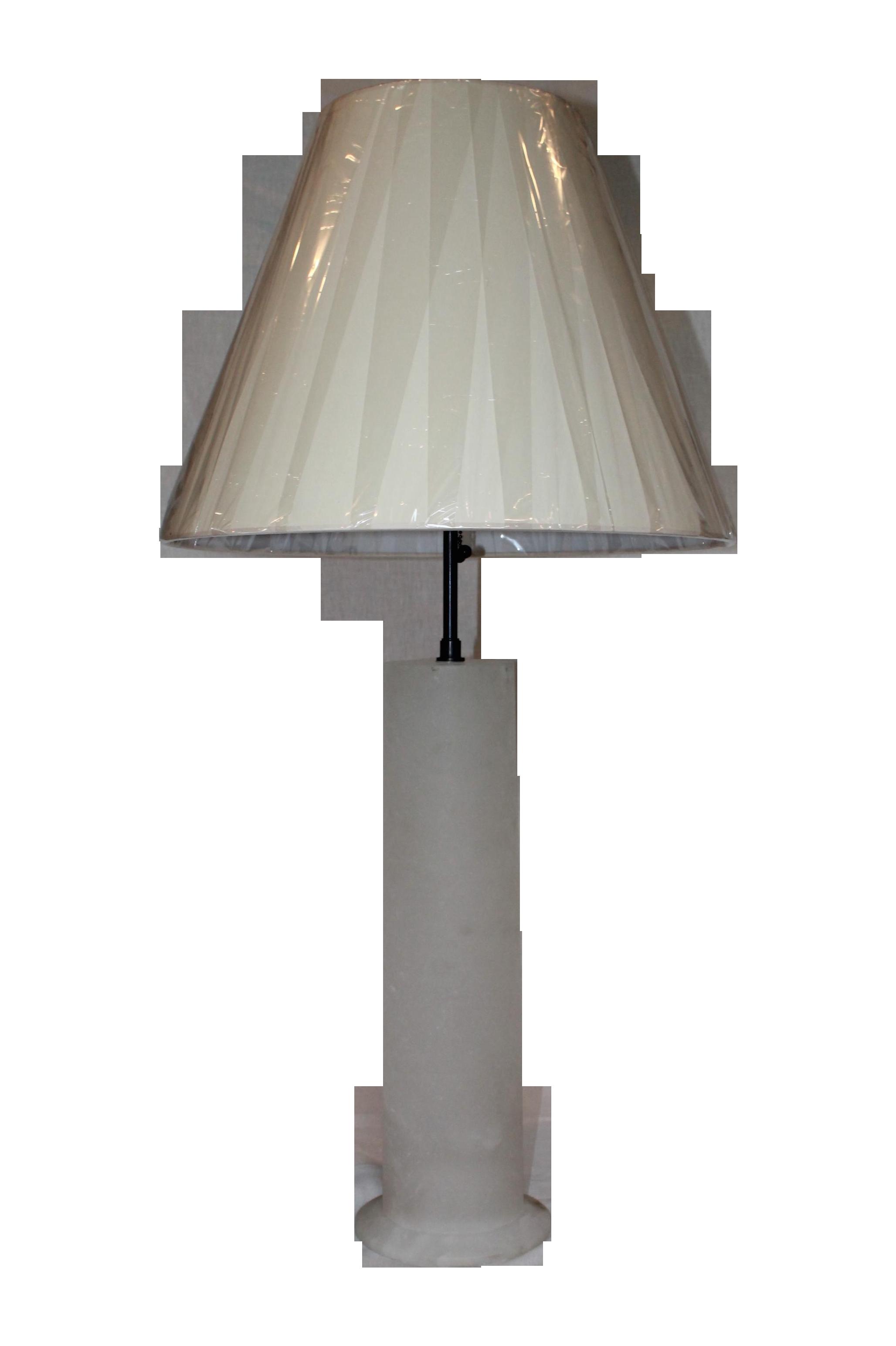 Visual Comfort Alabaster Table Lamp