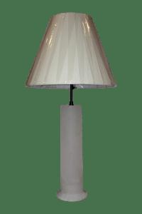 Visual Comfort Alabaster Table Lamp | Chairish