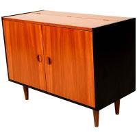 Mid-Century Modern Teak Storage Cabinet | Chairish
