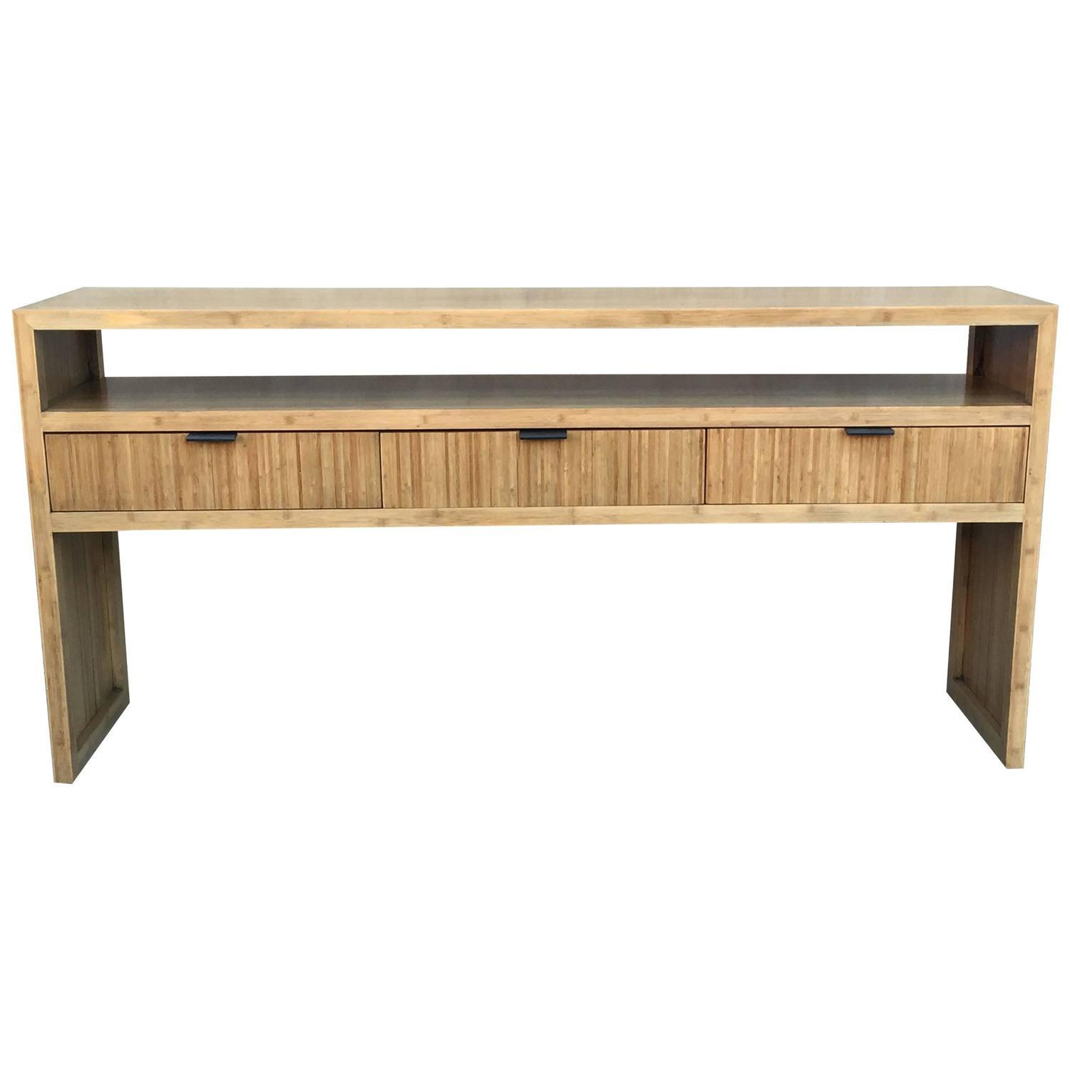 legare bamboo sofa table sectionnel montreal kijiji solid console or chairish