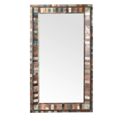 Sell Office Chairs Swinging Outdoors Reclaimed Wood Full Length Mirror | Chairish