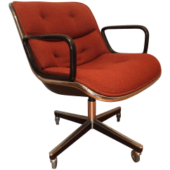 Knoll Pollock Chair Extreme Gaming Vintage Mid Century Chairish