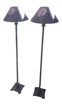 Restoration Hardware Petite Candlestick Buffet Lamps