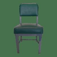 Mid-Century Modern Green Desk Chair | Chairish