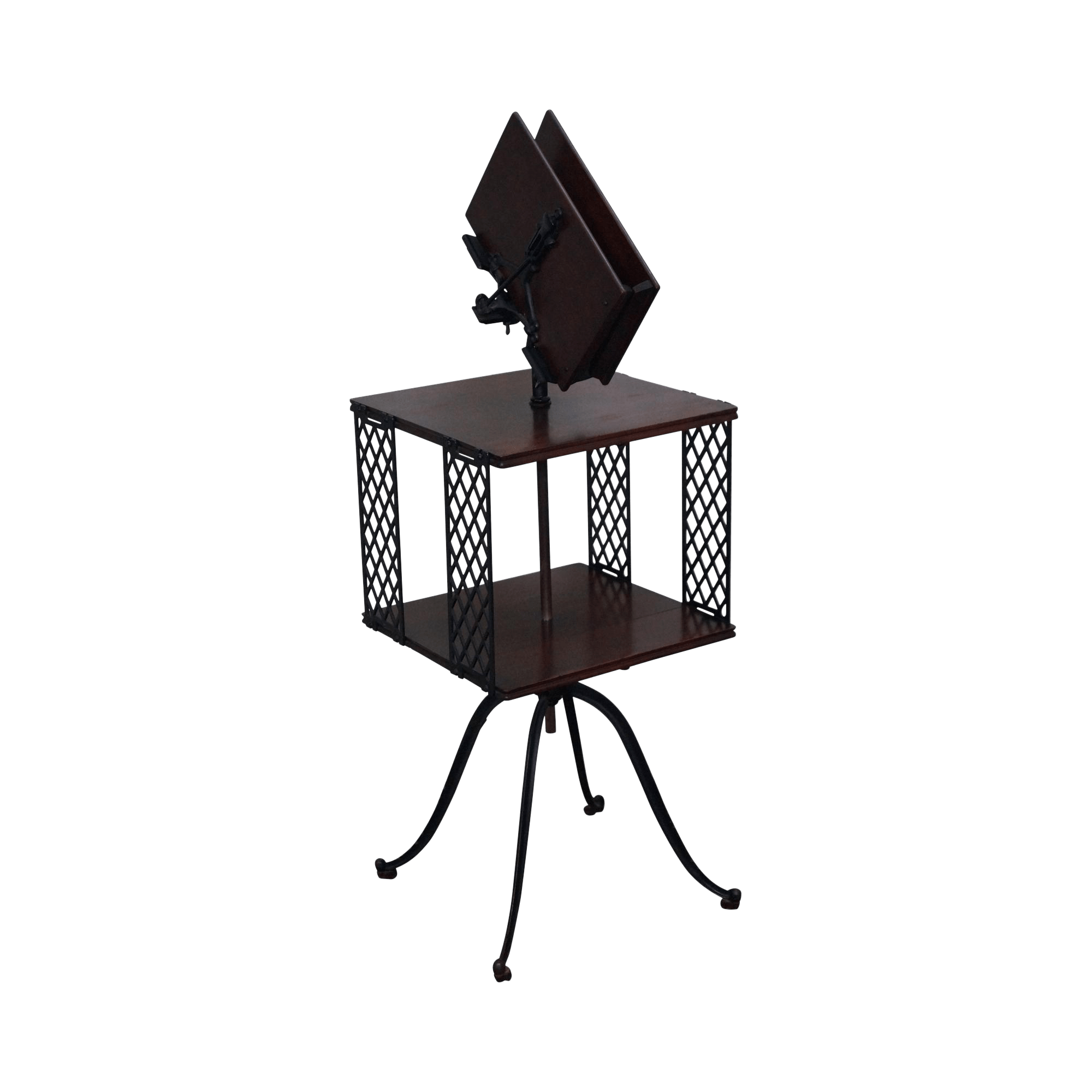 revolving chair with net event covers hire antique rm lambie iron dictionary book stand
