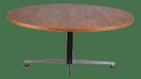 Mid Century German Teak Adjustable Coffee/Cafe Table ...