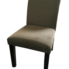 West Elm Chairs Dining Round Table And Dark Grey Tailored S 4 Chairish