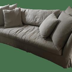Cisco Seda Sofa Fabric Sofas Australia Brothers Slipcover Chairish